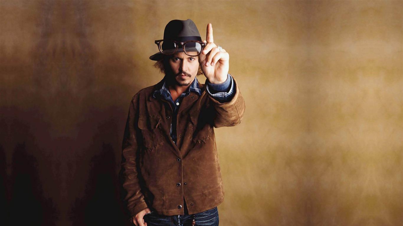 ジョニーデップ グローバル男性有名人写真の壁紙プレビュー