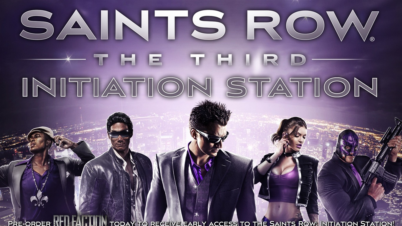 Saints Row The Third Hd Game Wallpaper Preview 10wallpaper Com