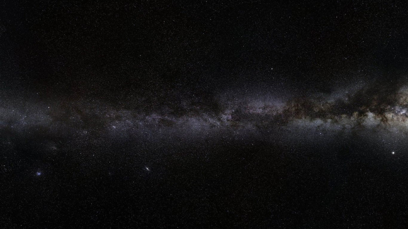 milky way-Space exploration secret wallpaper - 1366x768 wallpaper ...
