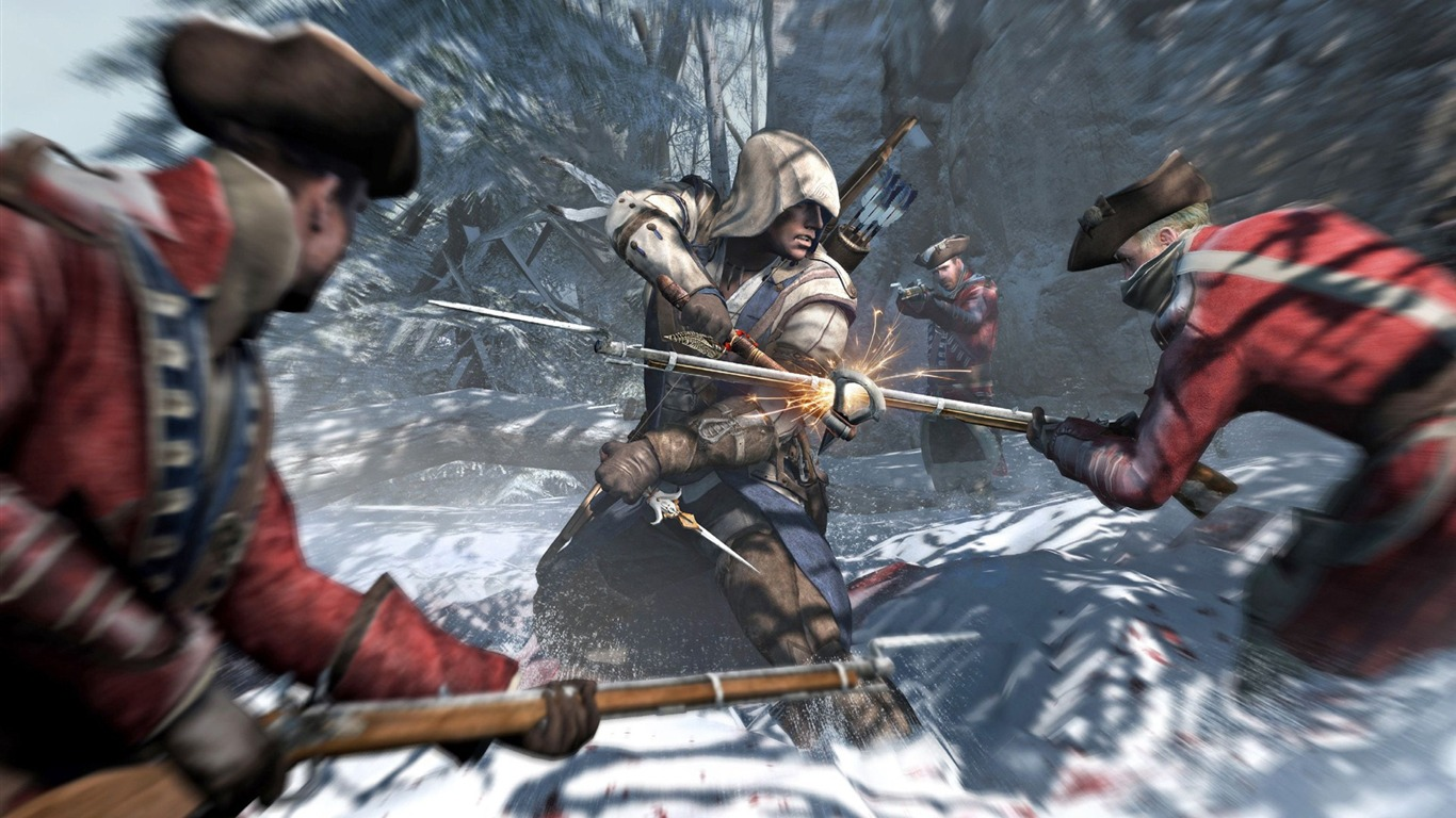 Assassins Creed 3 Game Hd Wallpaper 13 Preview 10wallpaper Com