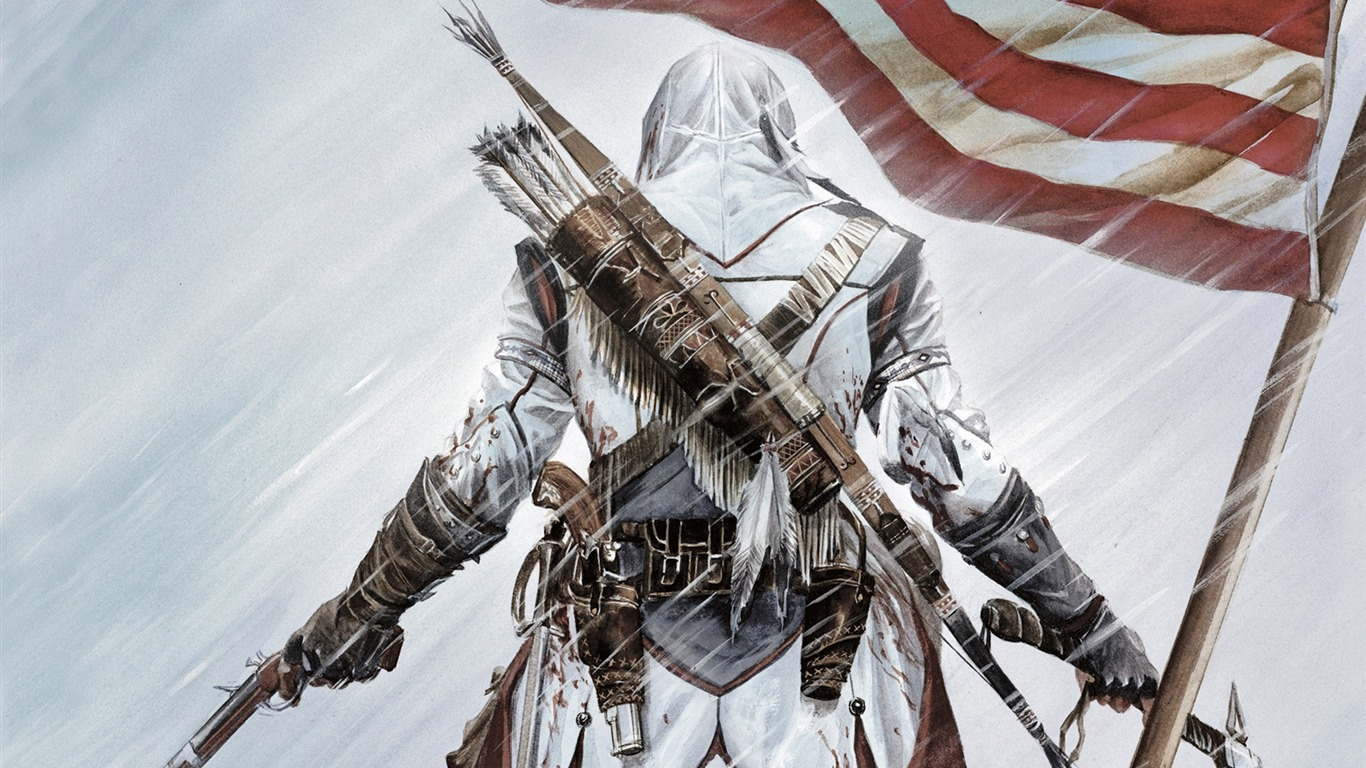 Assassins Creed 3 Game Hd Wallpaper 18 Preview 10wallpaper Com