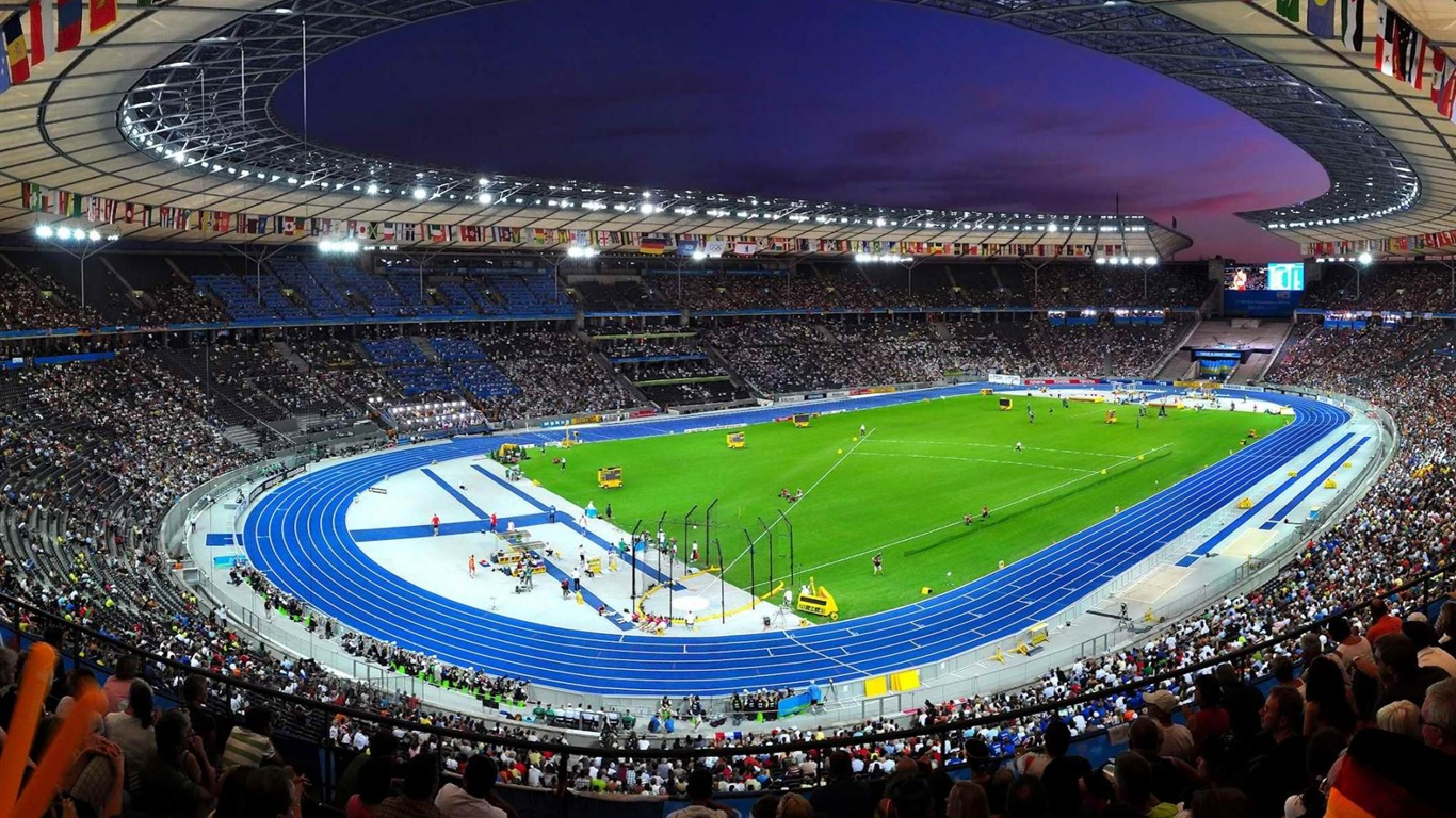 Berlin Olympic Stadium London 2012 Olympic Games Wallpaper