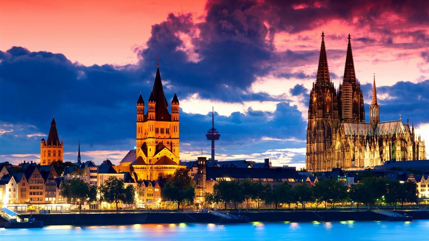 ケルン大聖堂ドイツ 都市建築の壁紙プレビュー 10wallpaper Com