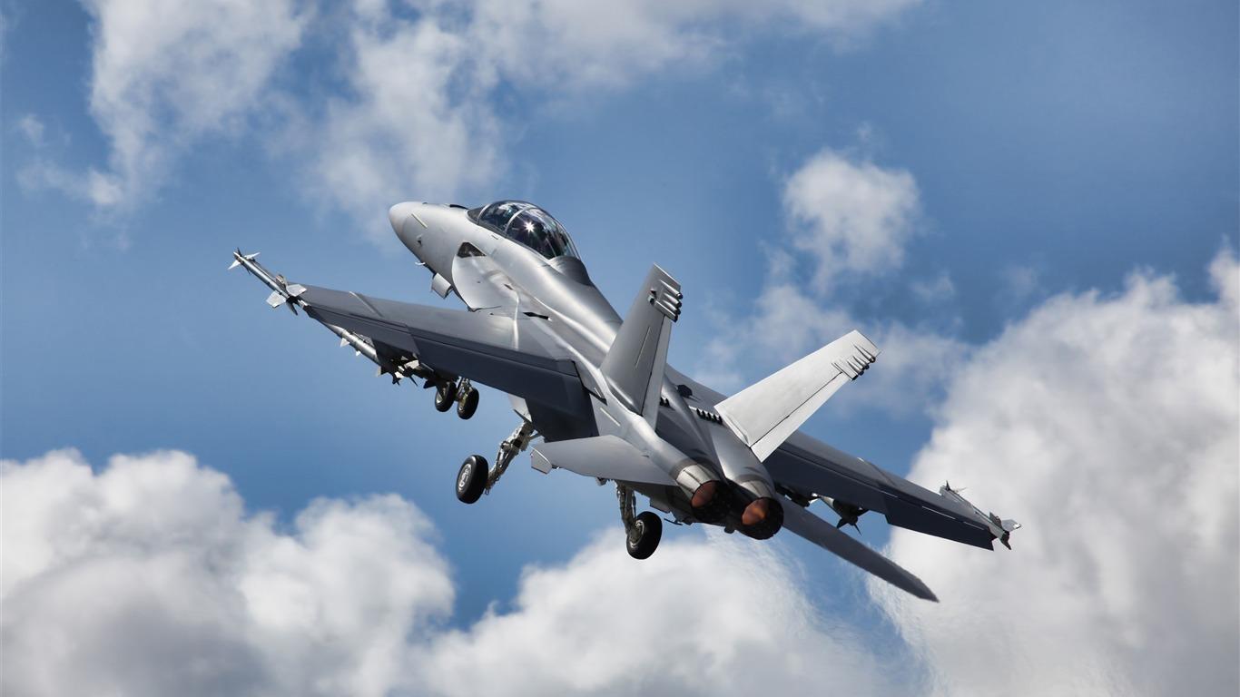Mcdonnell Douglas F 18 Aviones Militares Hornet Modern Hd