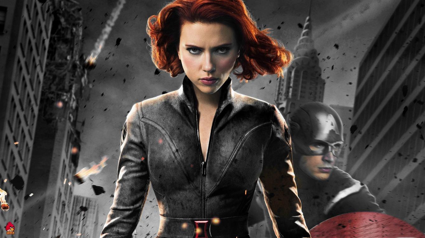 Viuda Negra En 1 The Avengers 2012 Hd Wallpapers Avance