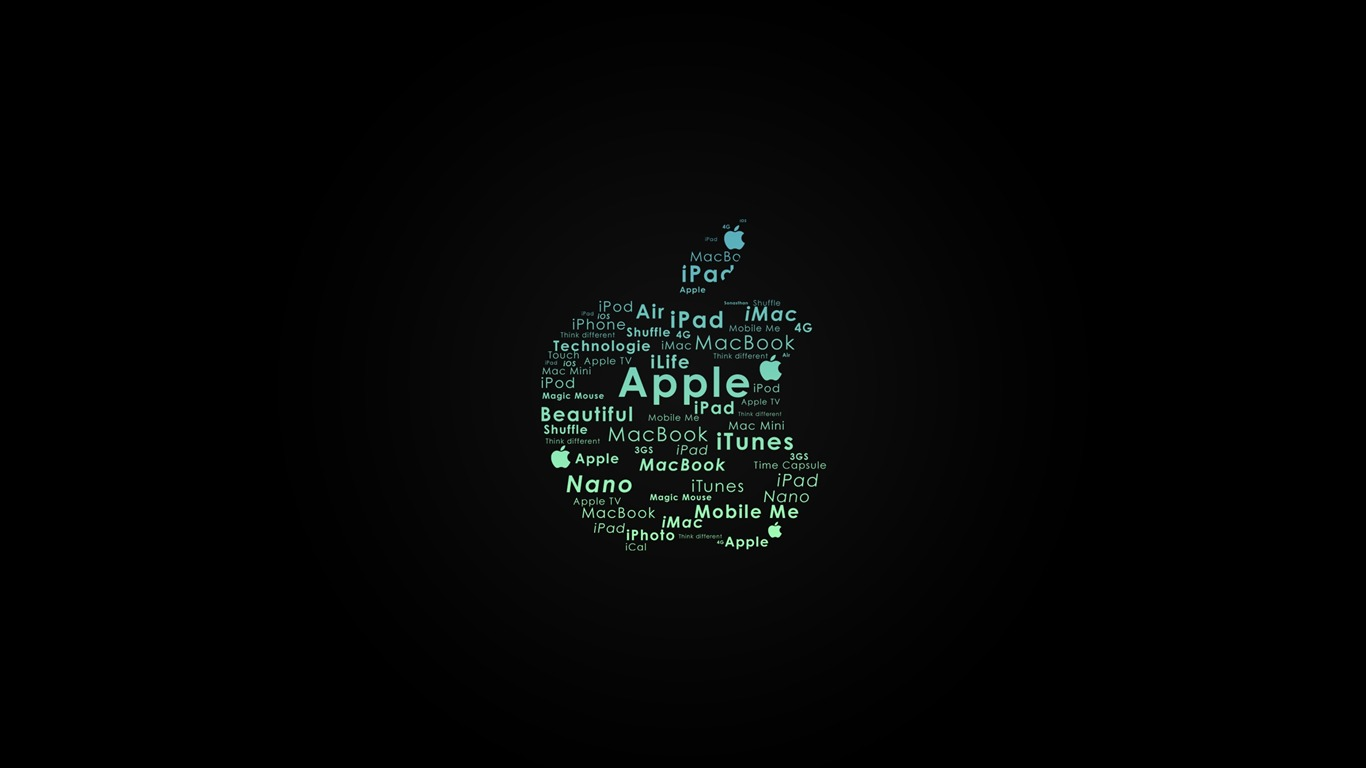 Typooo アップルのテーマの壁紙プレビュー 10wallpaper Com