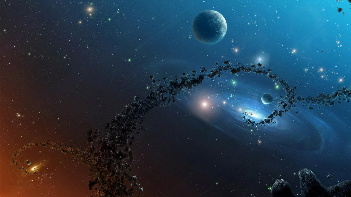 3d space-HD Space Wallpapers-1366x768 Download ...