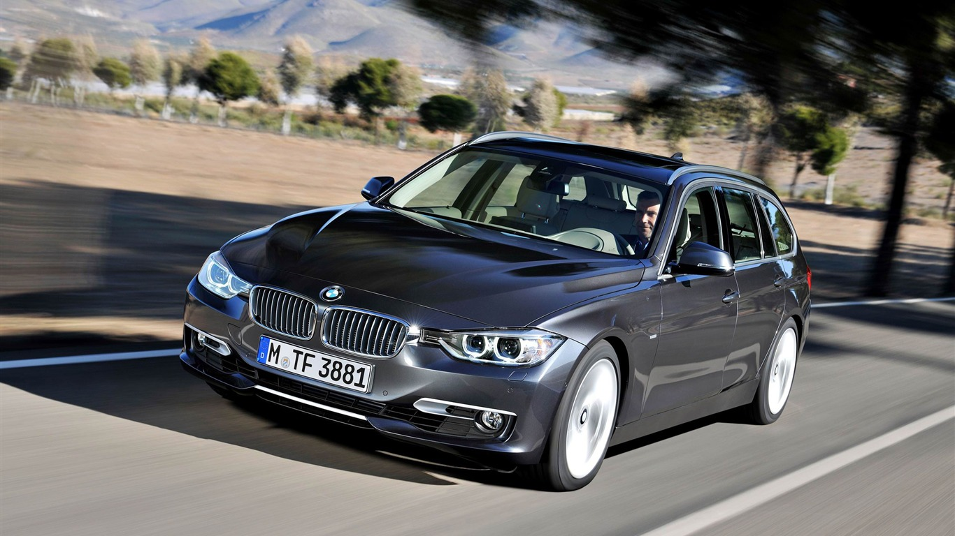 Bmw 3 Series 330d Touring Car Hd Wallpaper 03 Avance