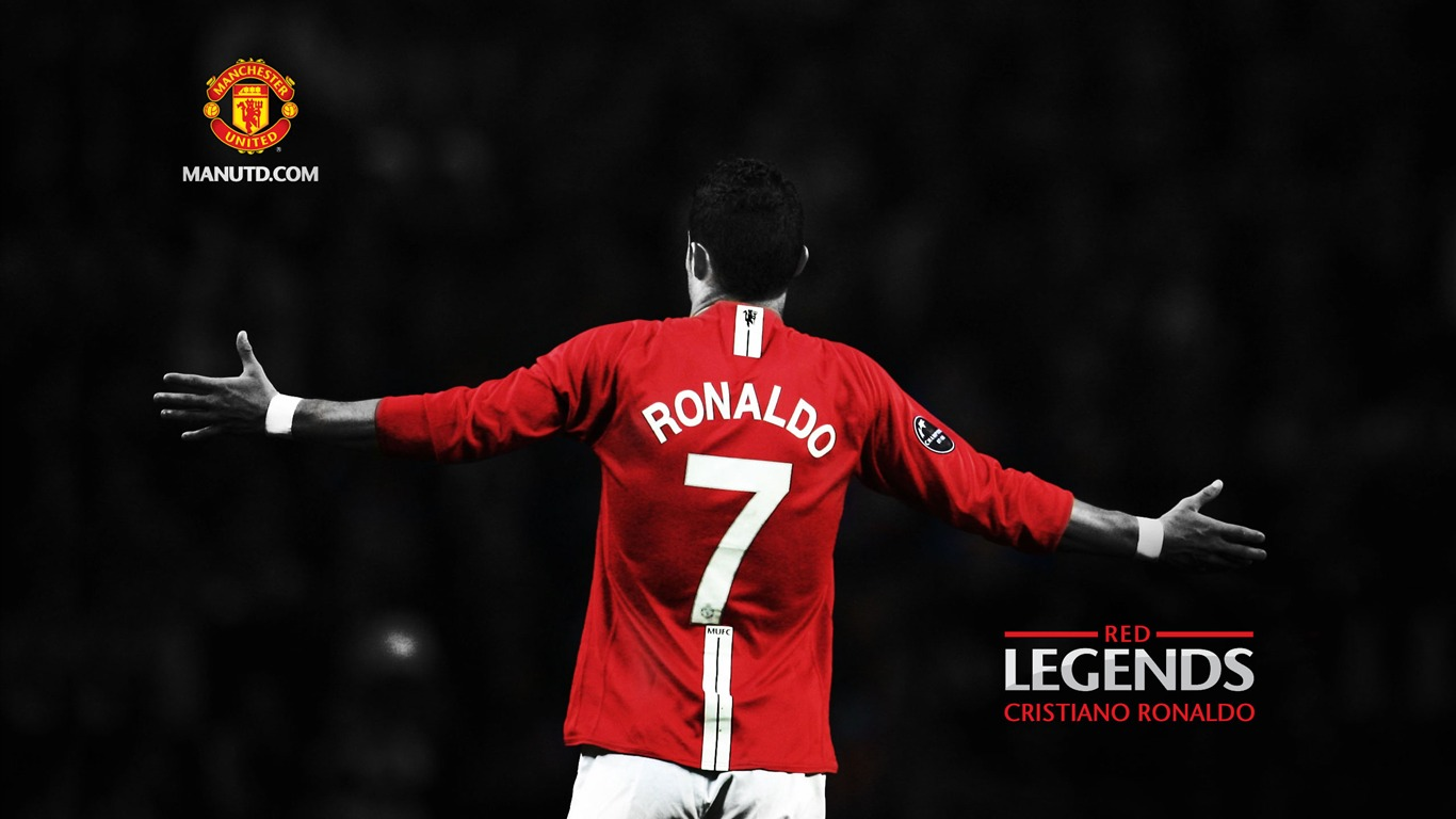 Cristiano ronaldo red legends manchester united wallpaper 1366x768 cristiano ronaldo red legends manchester united wallpaper 1366x768 wallpaper download voltagebd Image collections