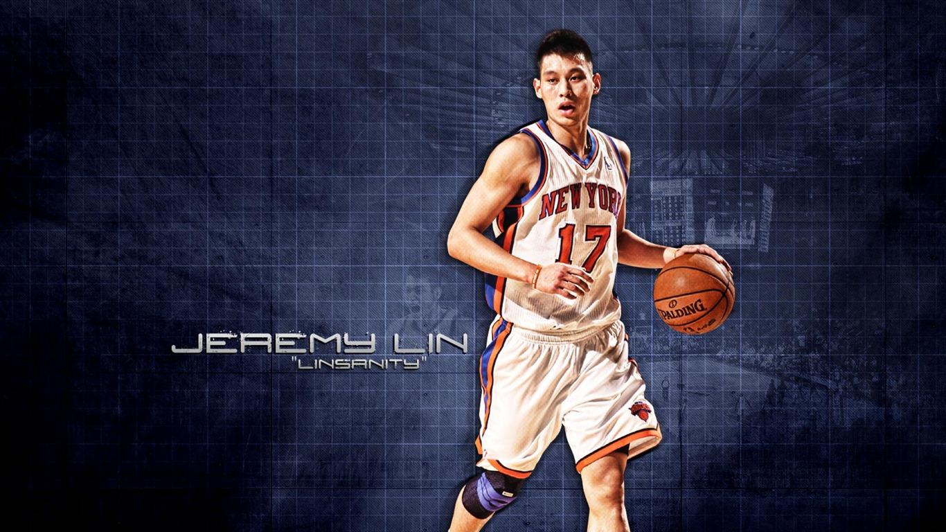 Jeremy Lin: Jeremy Lin-NBA New York Knicks Wallpaper 08-1366x768