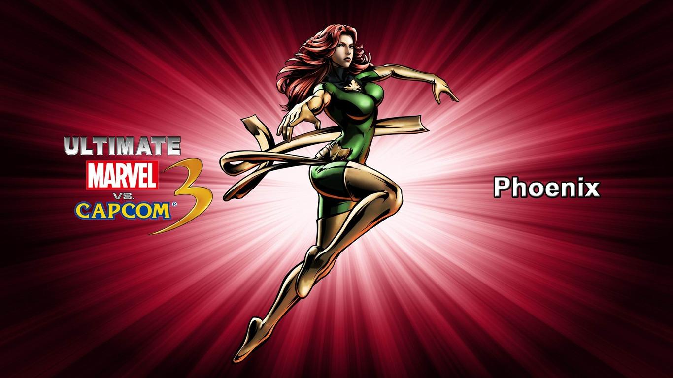 Phoenix Ultimate Marvel Vs Capcom 3 Game Wallpaper Preview
