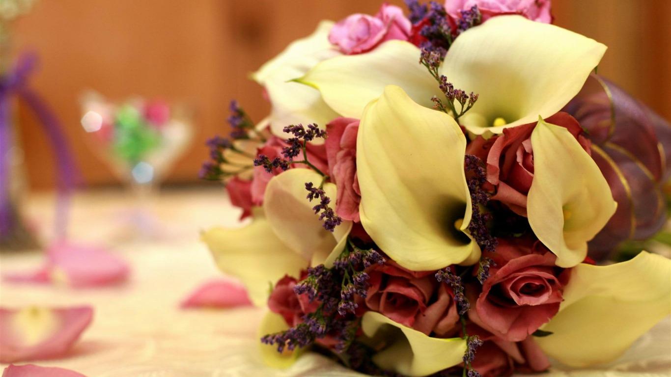 カイウの結婚式のブーケ 花の写真撮影の壁紙プレビュー 10wallpaper Com