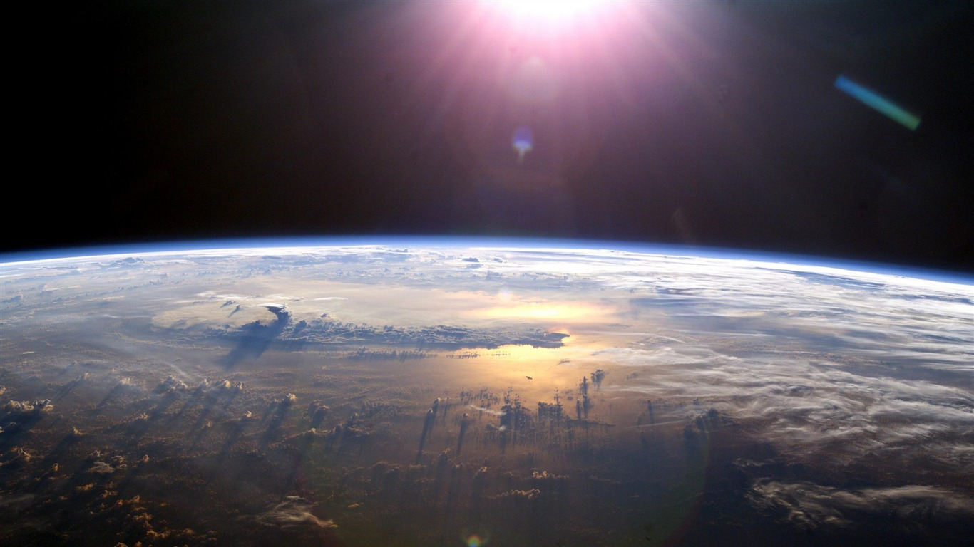 Earth image hd space wallpapers 1366x768 download for Space wallpaper 1366x768