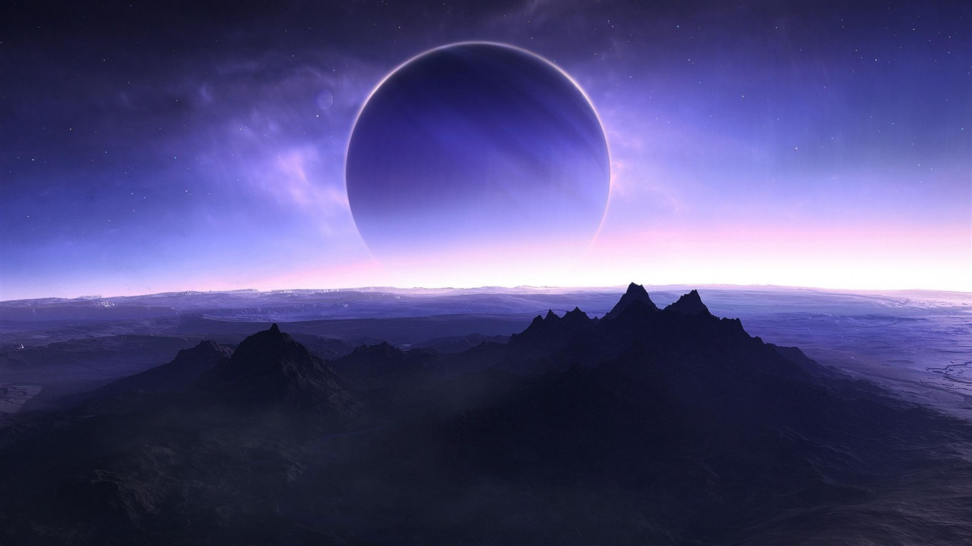 twilight_blue_moon_mountains-HD_Space_Wallpapers2012.5.8