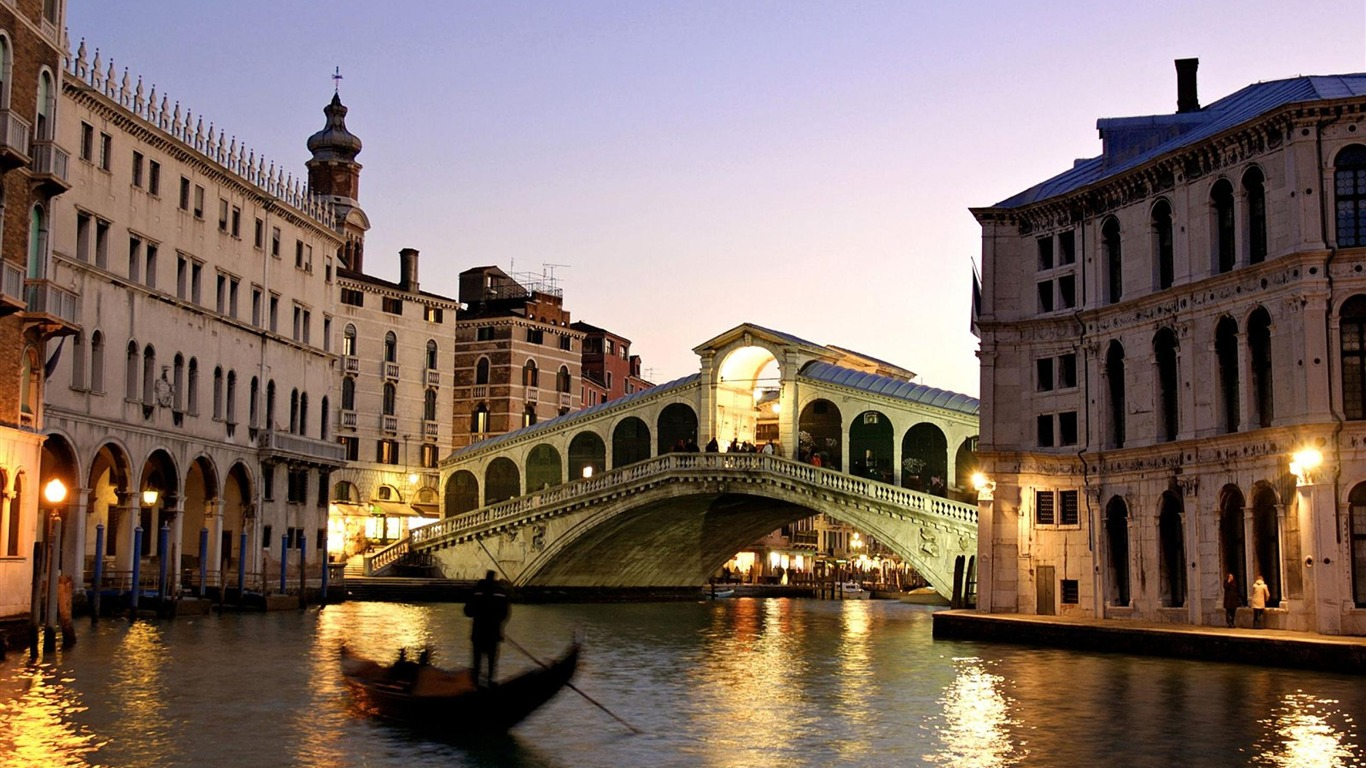 Venice Italy Romantic Tourism City Landscape Wallpaper