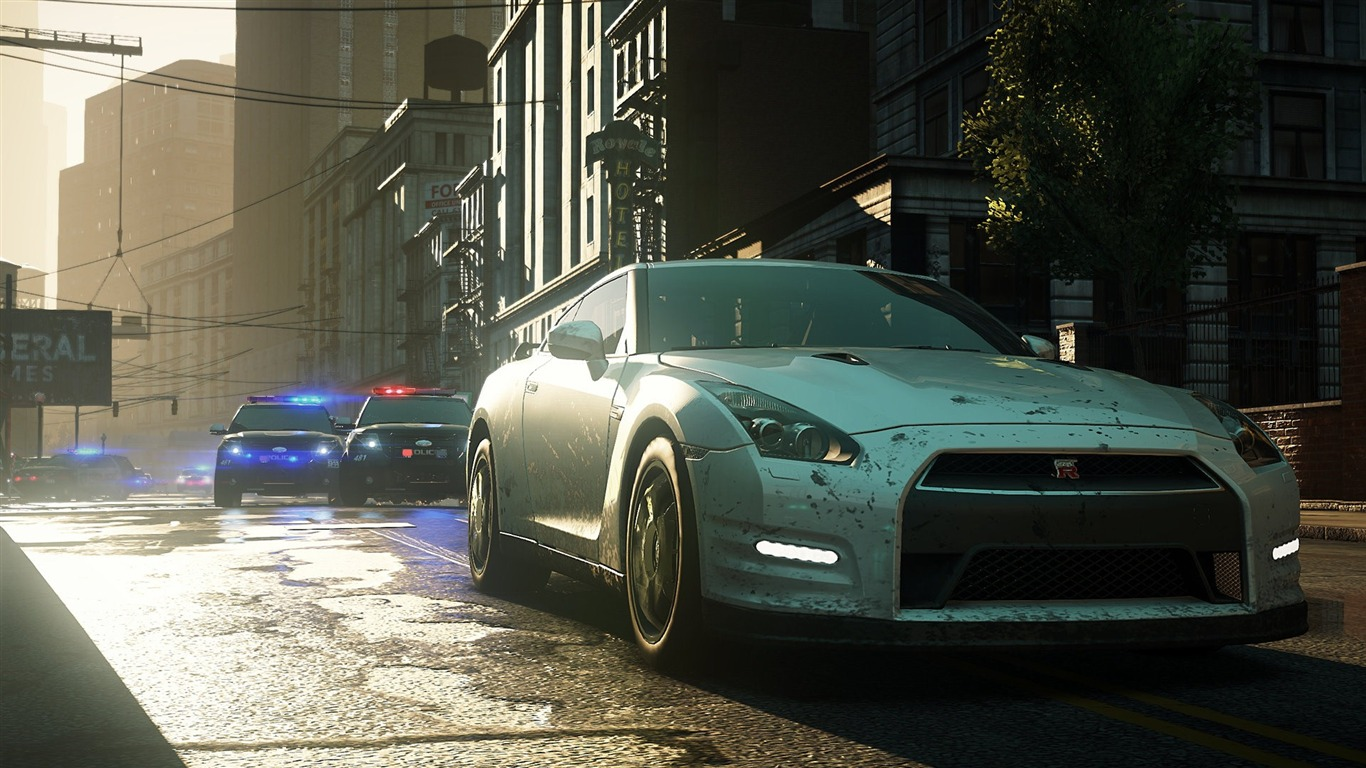 Need For Speed Most Wanted Game Hd Wallpaper 01 Preview