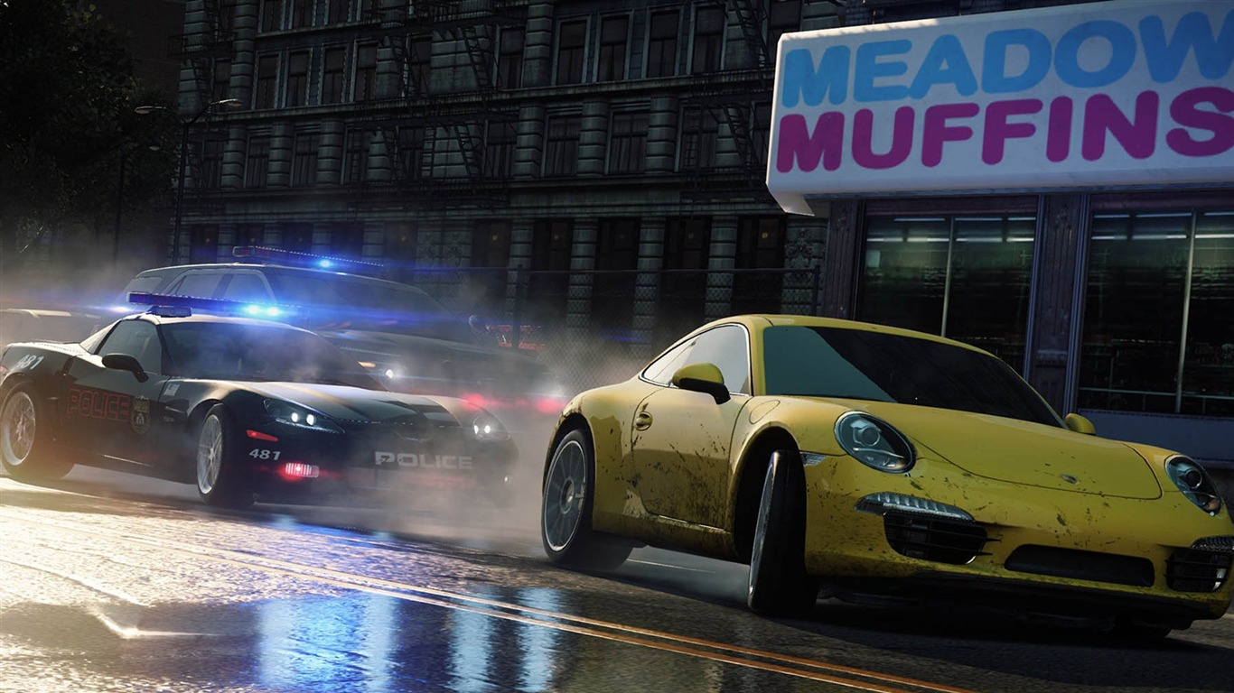Game Need For Speed Most Wanted HD Wallpaper 0