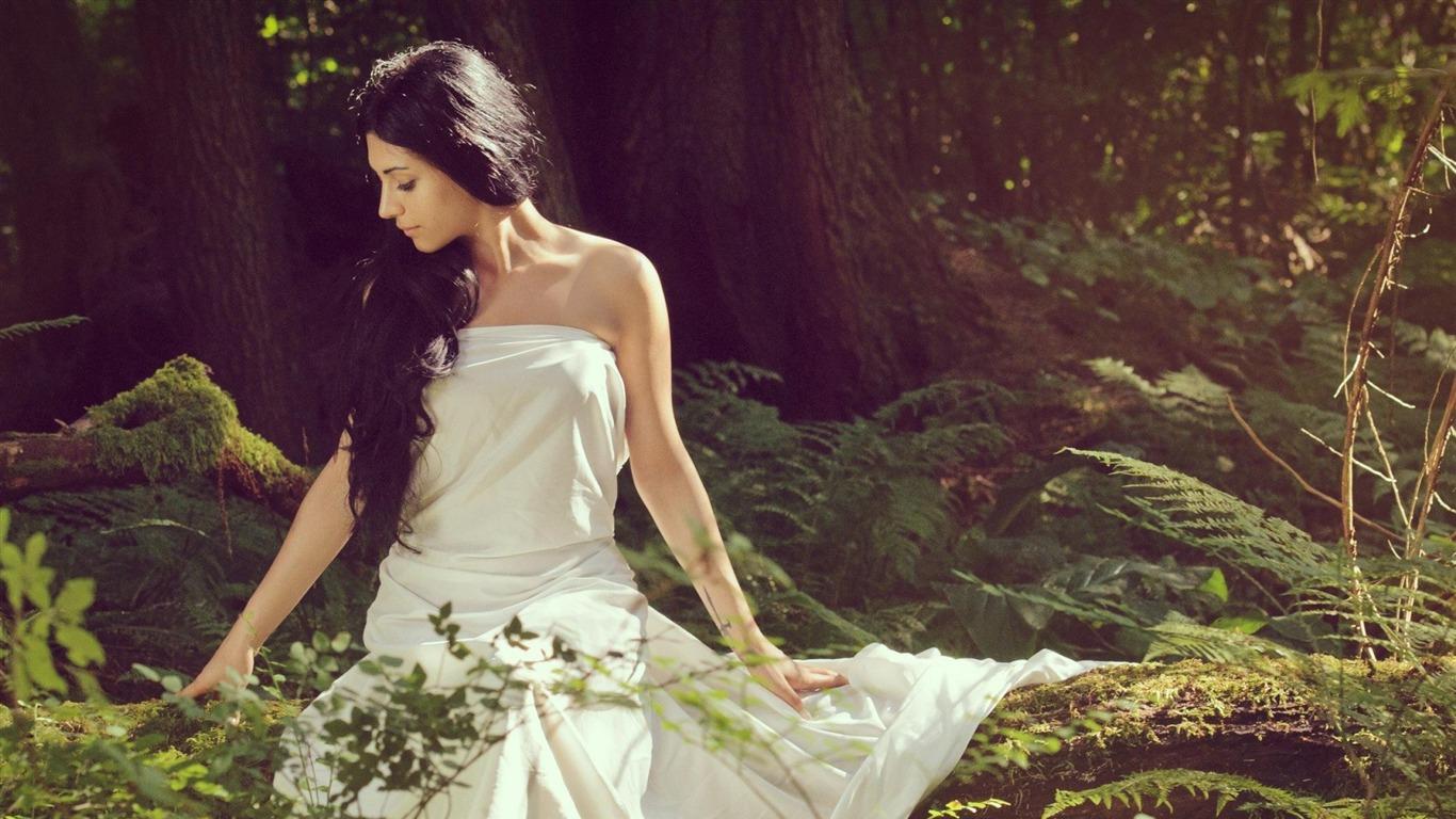 女の子のドレス 美しさのモデル写真の壁紙プレビュー 10wallpaper Com