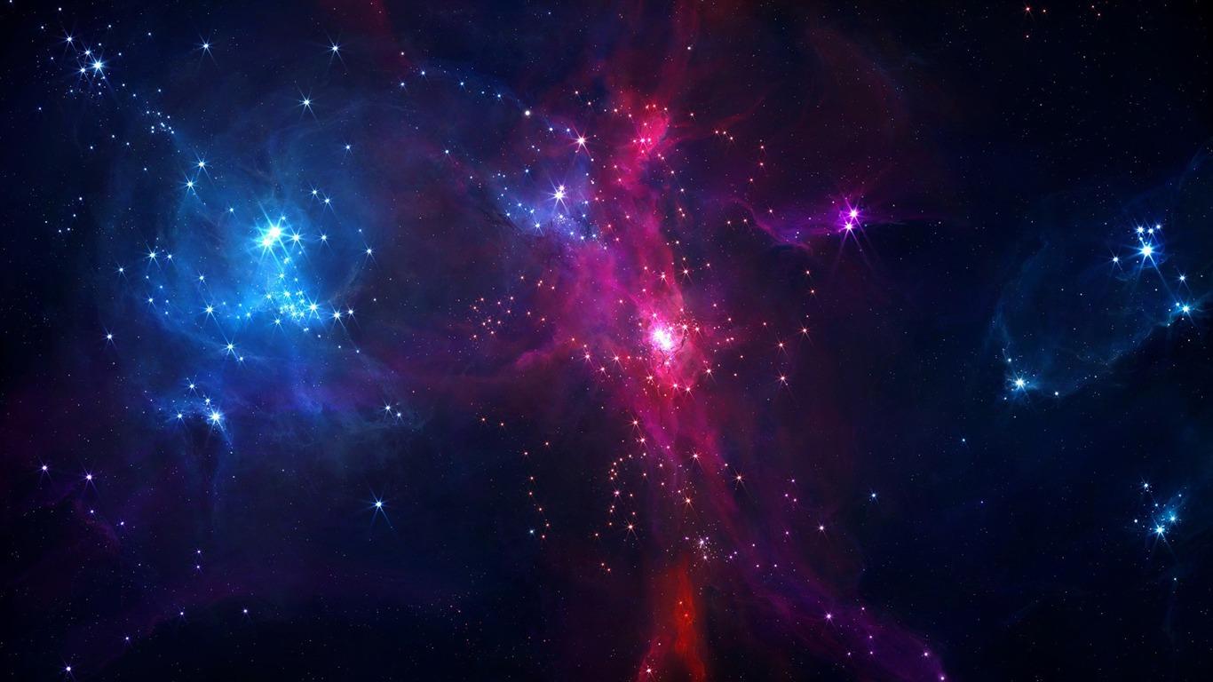Aesthetic dream space hd desktop wallpaper 06 1366x768 for Space wallpaper 1366x768