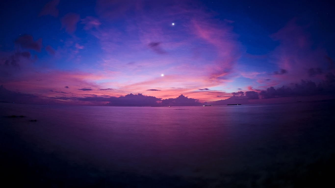 sunset_over_sea-Nature_landscape_wallpaper2012.8.14