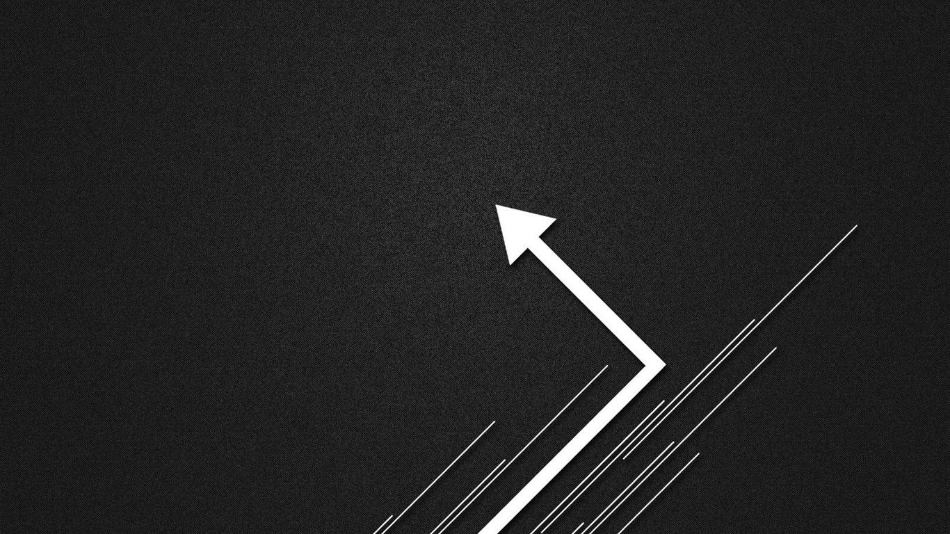 Arrow Lines Abstract Design Wallpaper  1366x768 Download
