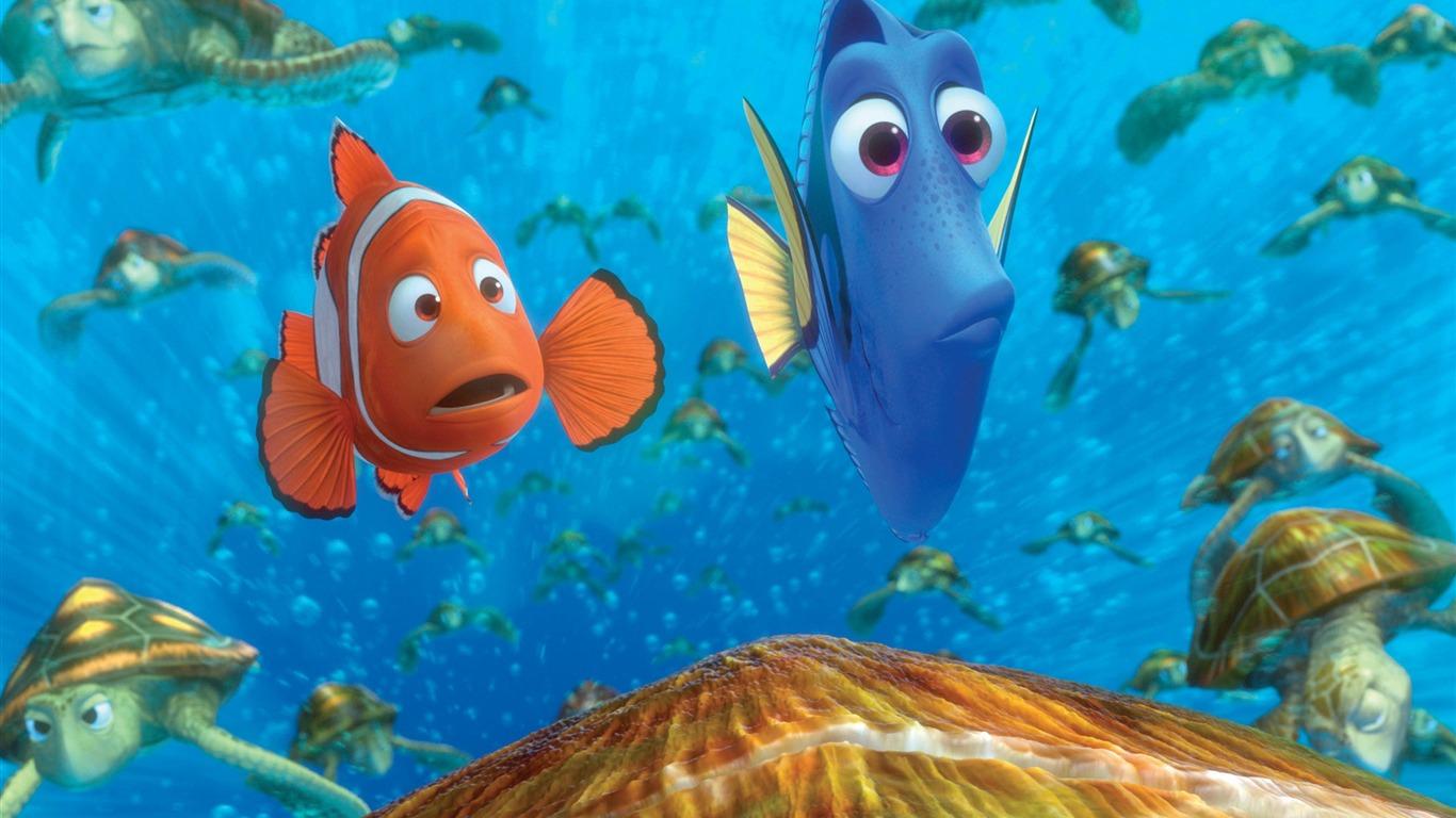 Finding Nemo D Animasi Hd Wallpaper: Finding Nemo 3D Movie HD Desktop Wallpaper 10 Preview