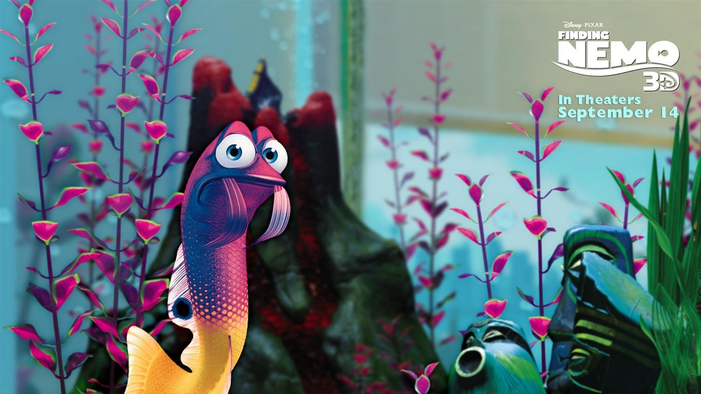 Gurgle Finding Nemo 3d Movie Hd Desktop Wallpaper