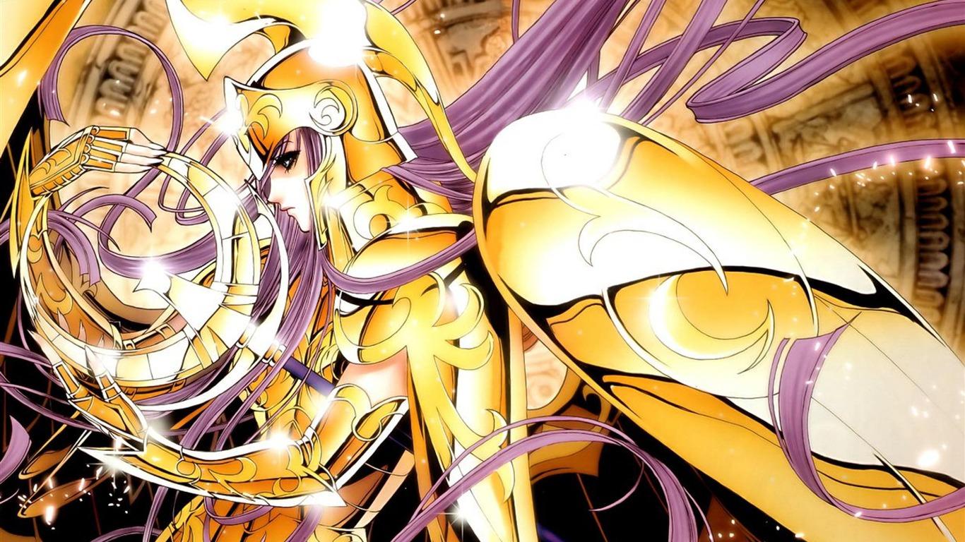 聖闘士星矢アテナのリスト 漫画デザインの壁紙プレビュー