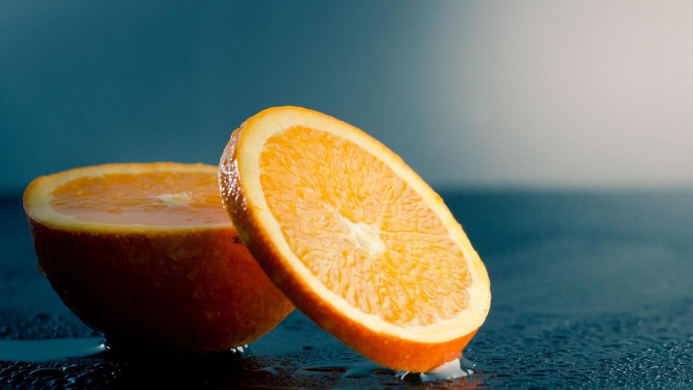 Orange Slice High Quality Wallpaper Views7658