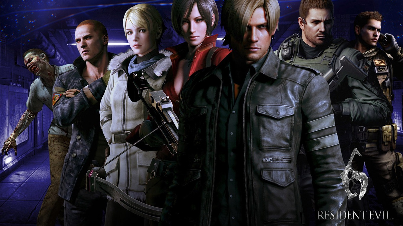 Resident Evil 6 Game Hd Wallpaper 06 Avance 10wallpapercom