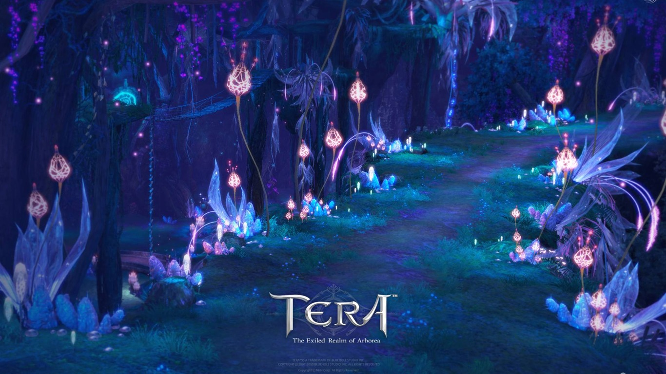 tera game hd wallpaper 031366x768 download 10wallpapercom