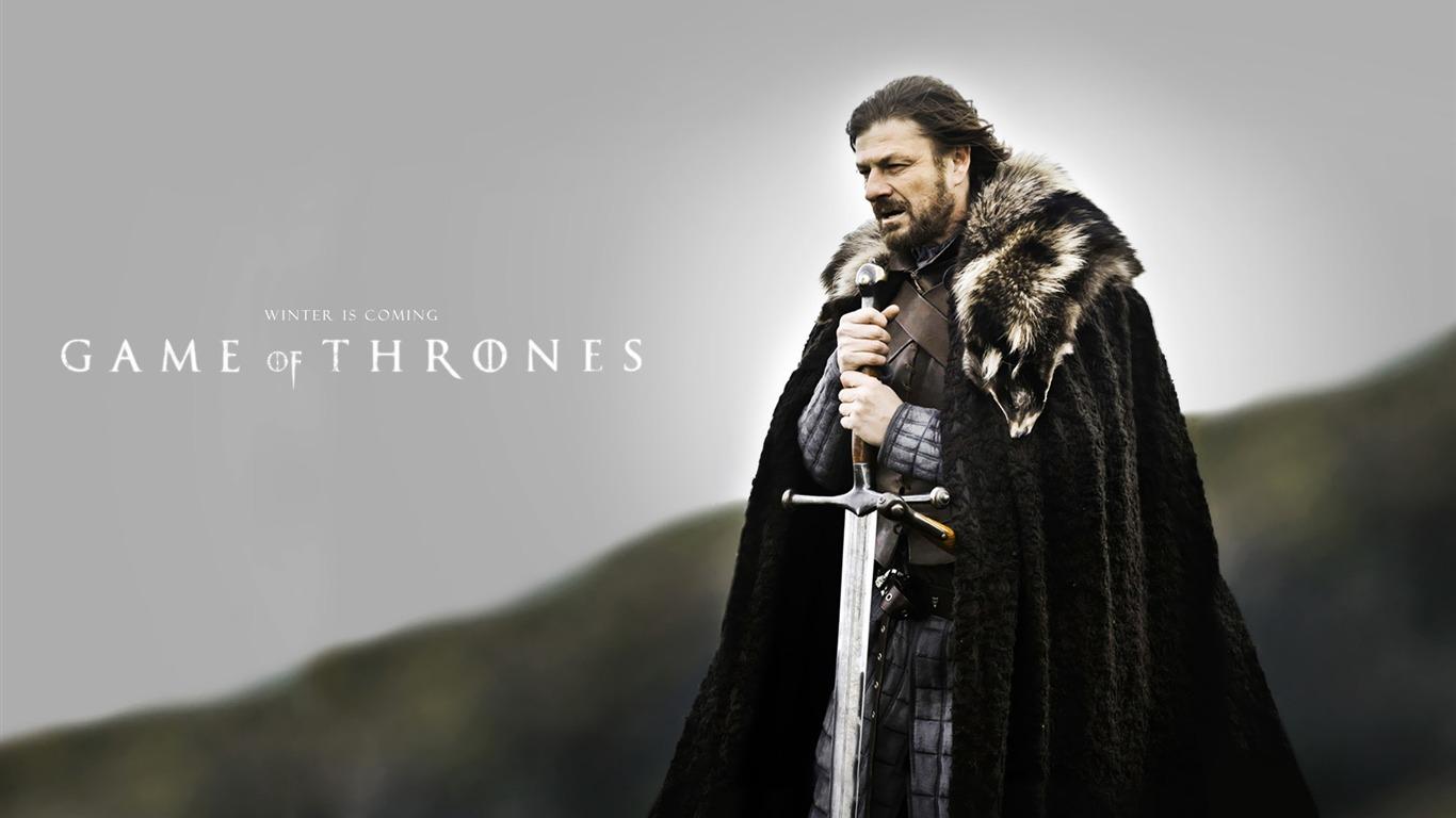 Serie De Televisión Eddard Stark Game Of Thrones Wallpaper