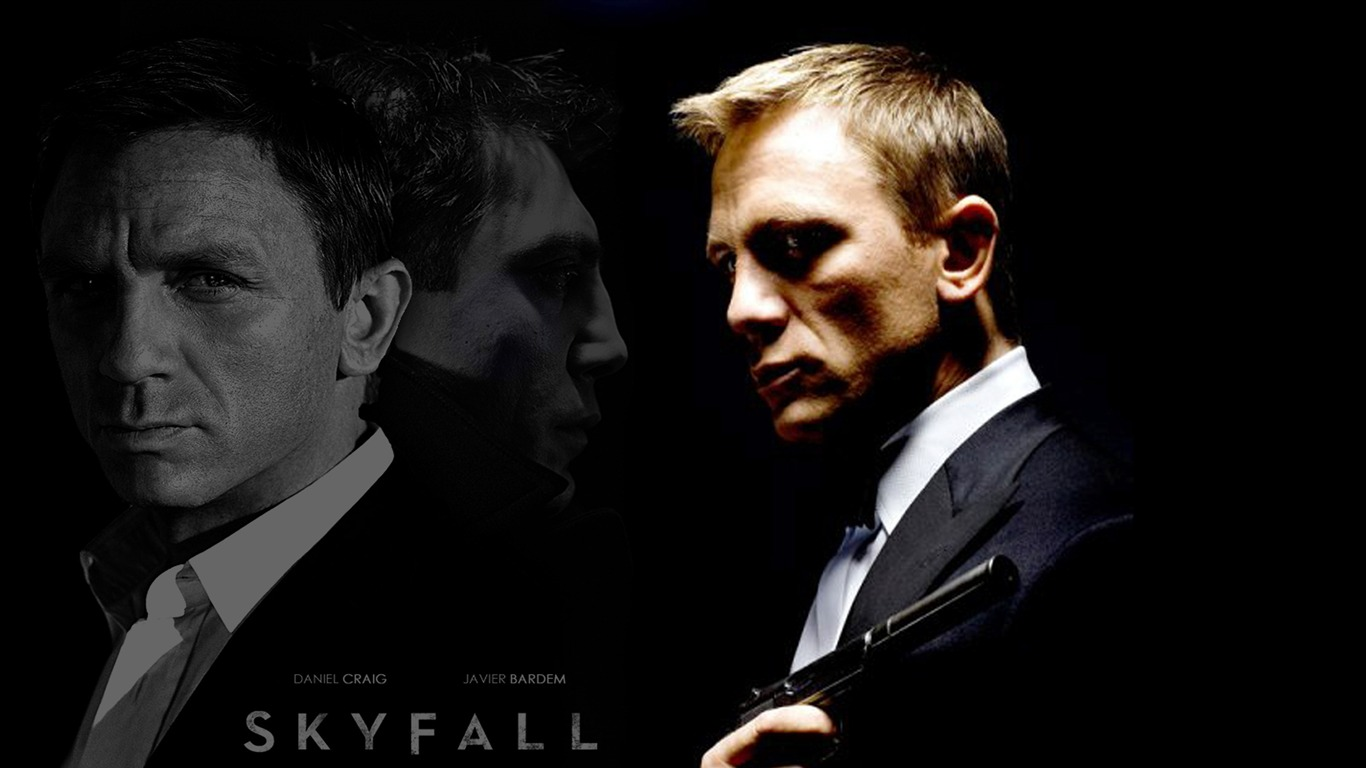 007 Skyfall 2012 Movie Hd Desktop Wallpapers 08 1366x768 Wallpaper