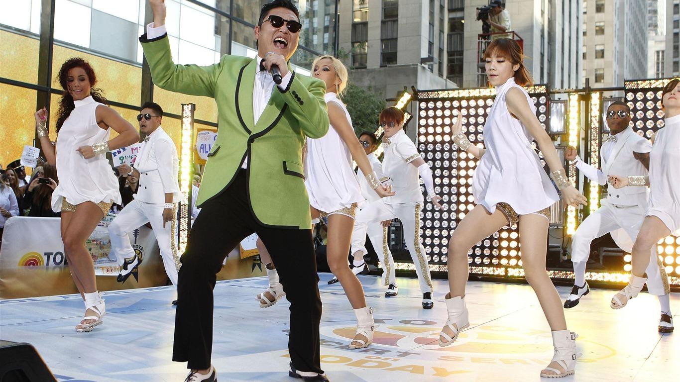 Gangnam stylela dövüş kazanmak
