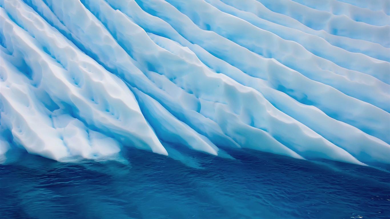 Melting ice-MAC OS X Mountain Lion HD
