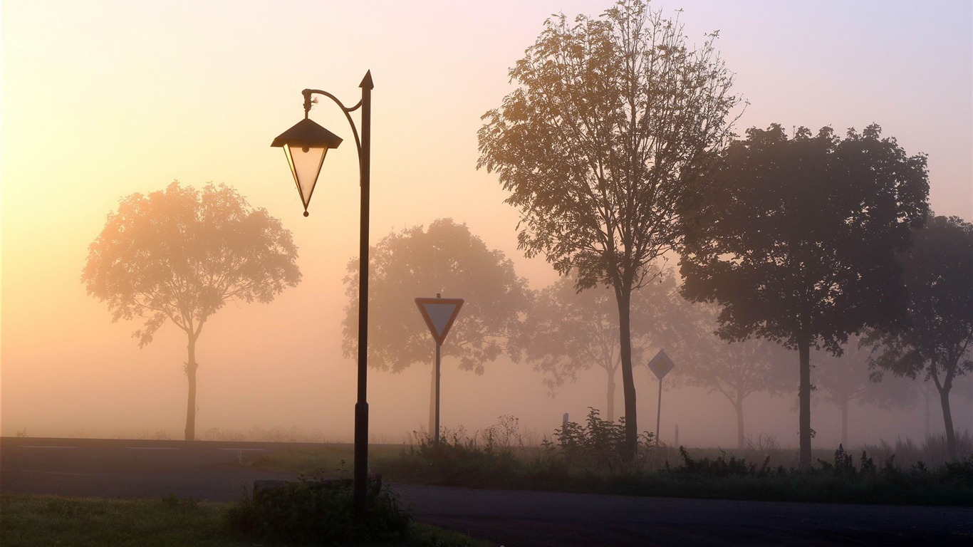 foggy_crossroads-autumn_landscape_Wallpaper