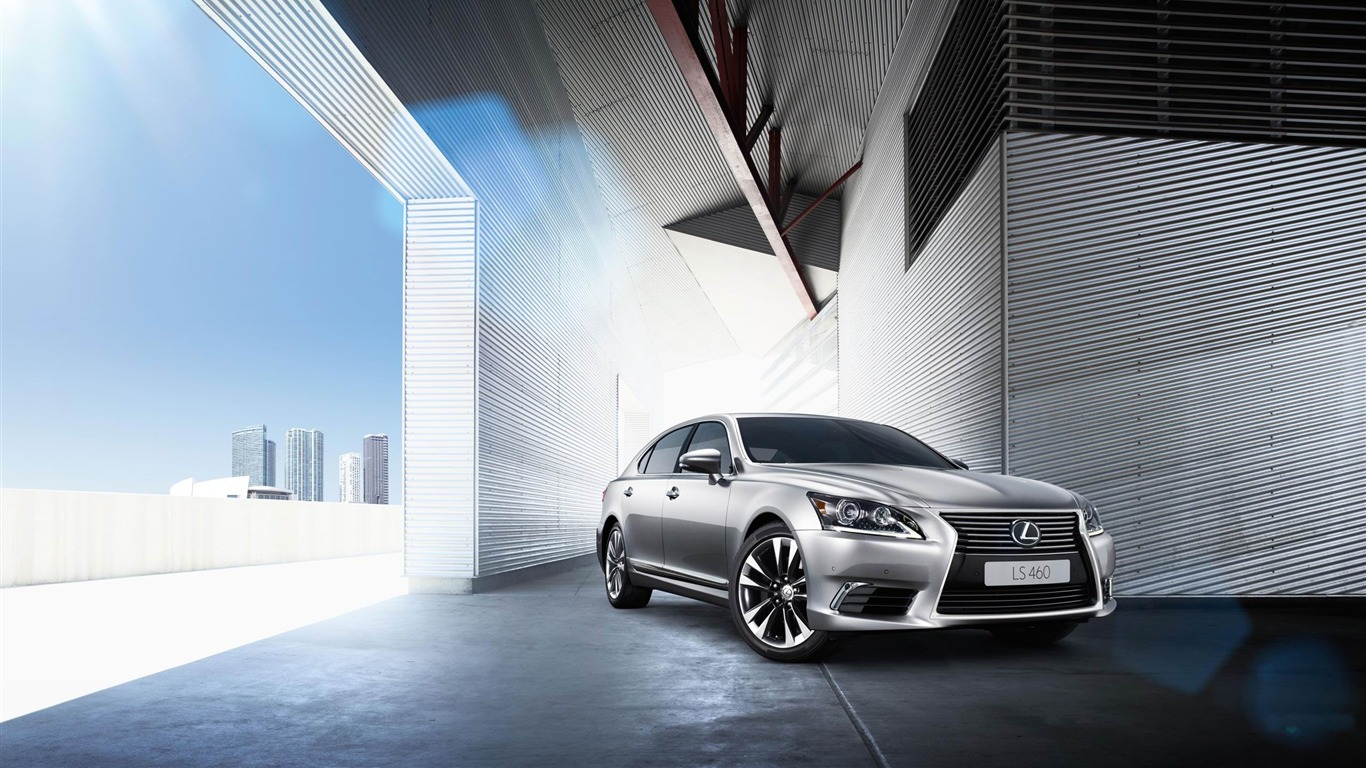 2013 Lexus LS EU-Version Auto HD Wallpaper 01 Preview | 10wallpaper.com