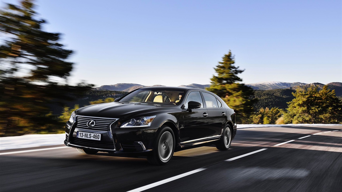 2013 Lexus LS EU-Version Auto HD Wallpaper 15 Preview | 10wallpaper.com