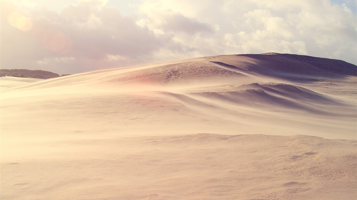 desert storm-small fresh landscape wallpaper preview | 10wallpaper