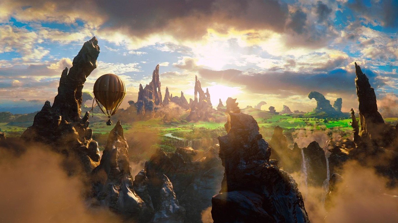 Oz The Great And Powerful Movie Hd Desktop Wallpaper 08