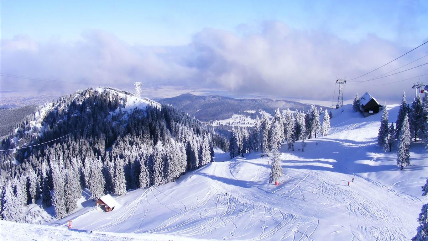 Station De Ski Fond D Ecran Paysages D Hiver Apercu 10wallpaper Com