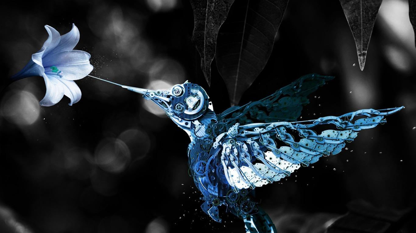 スチームパンクの鳥 12年注目の動物の壁紙プレビュー 10wallpaper Com