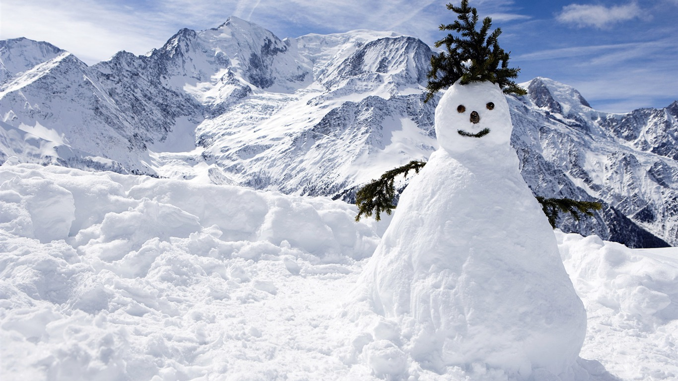 aesthetic cute snowman christmas hd computer wallpaper 18 view