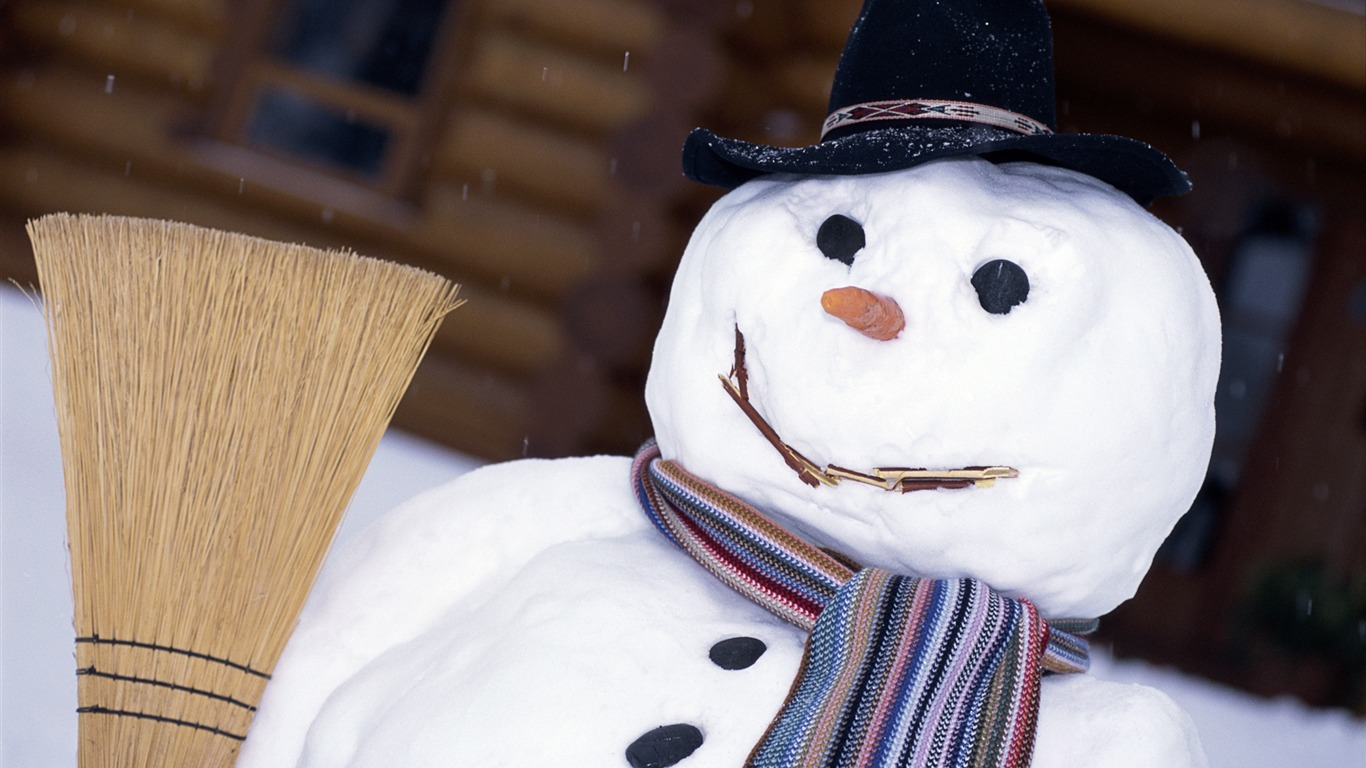 Aesthetic_cute_snowman_Christmas_HD_computer_wallpaper_202012.12.19