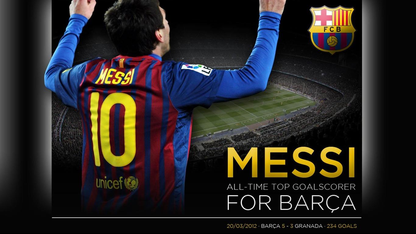Messi史上ゴール得点王 Fcバルセロナクラブのhdの壁紙プレビュー