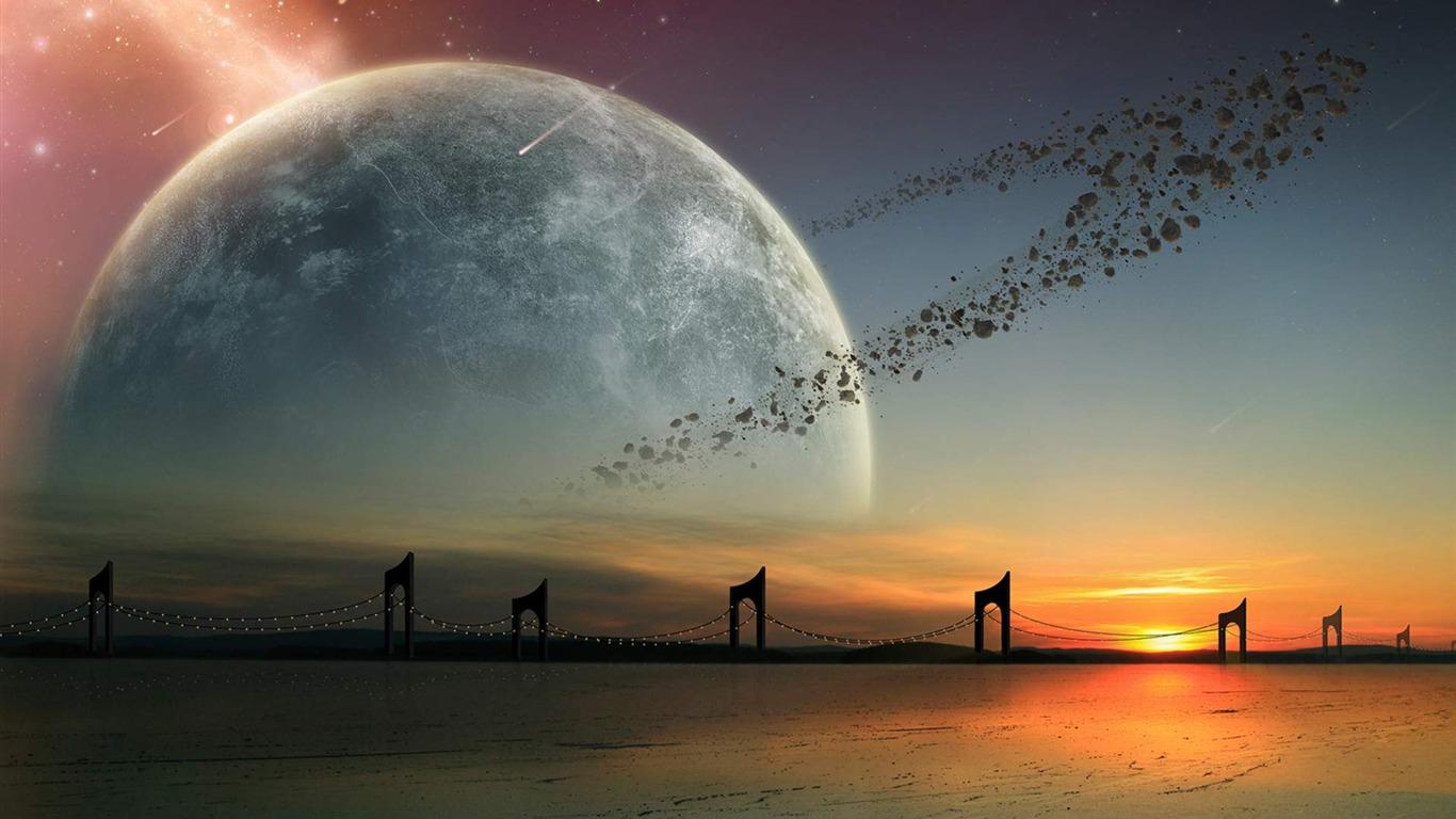 Beautiful Space Universe HD Desktop Wallpapers Preview