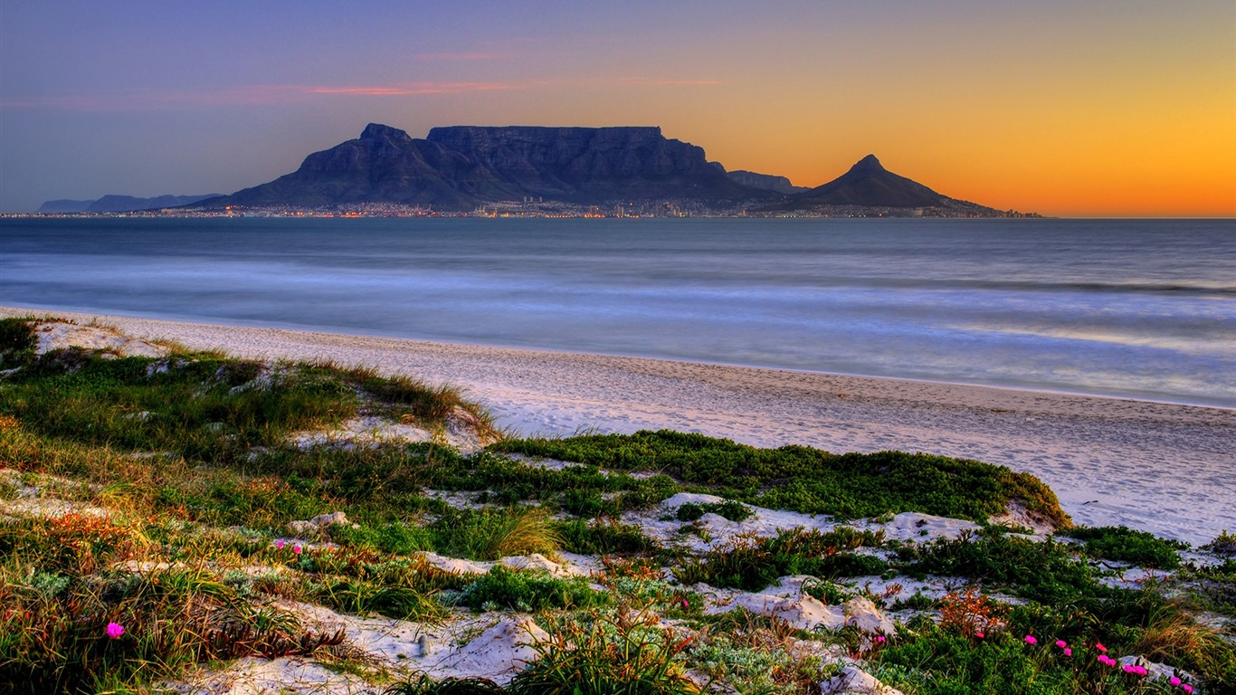South Africa Pingdingshan Natural Landscape Hd Wallpaper