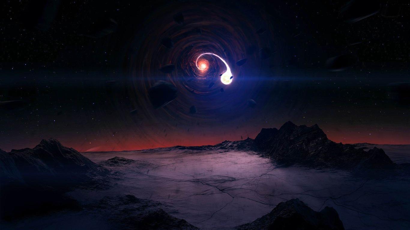 1366x768 black hole - photo #18