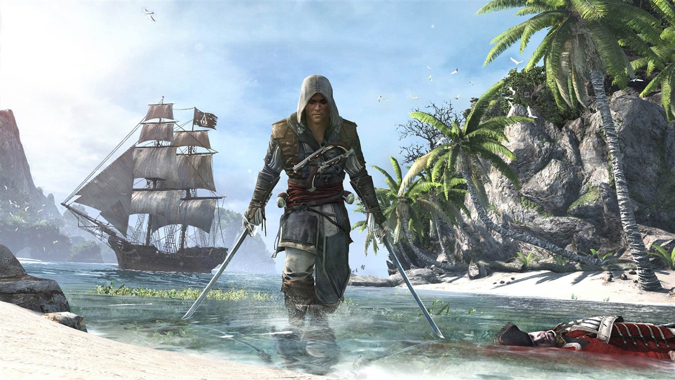 Assassins Creed Iv Black Flag Game Hd Desktop Wallpaper 06 Preview