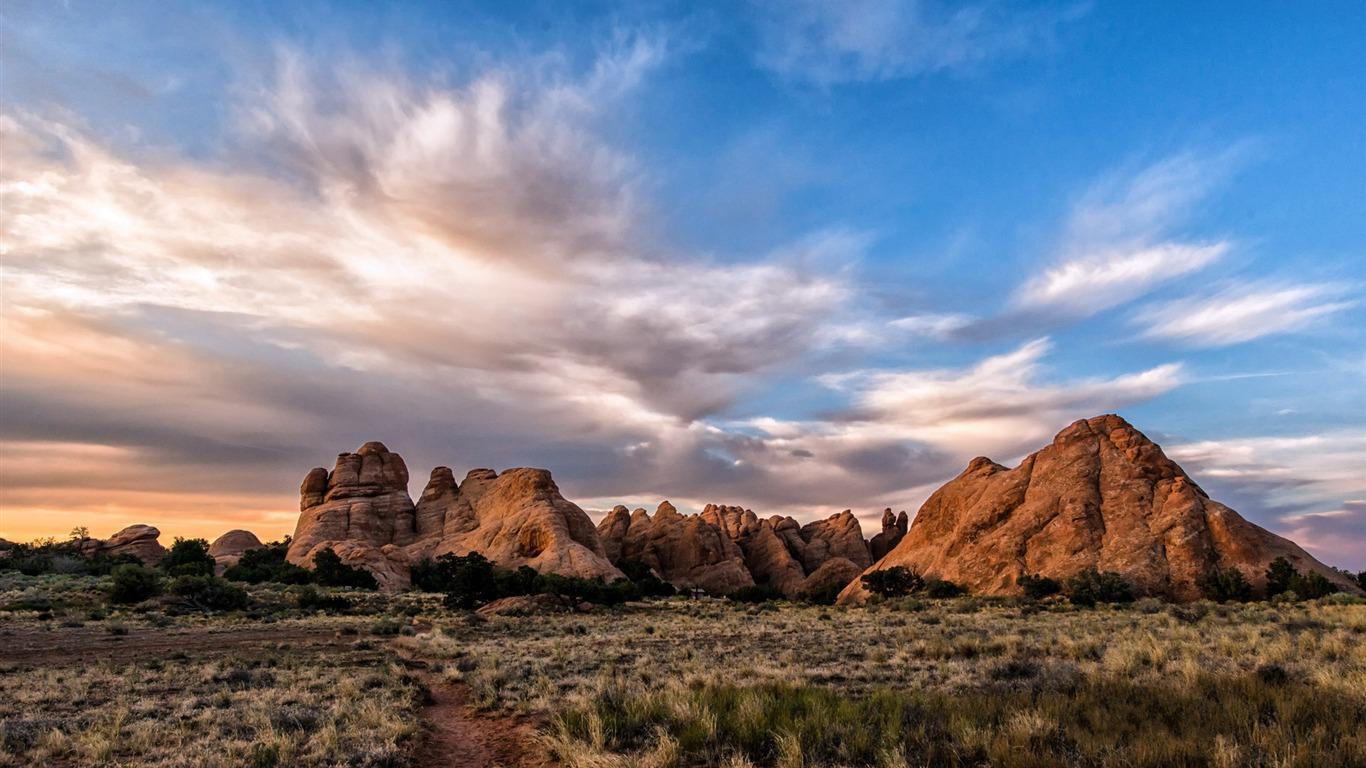 American Arches National Park Photography Fondos De